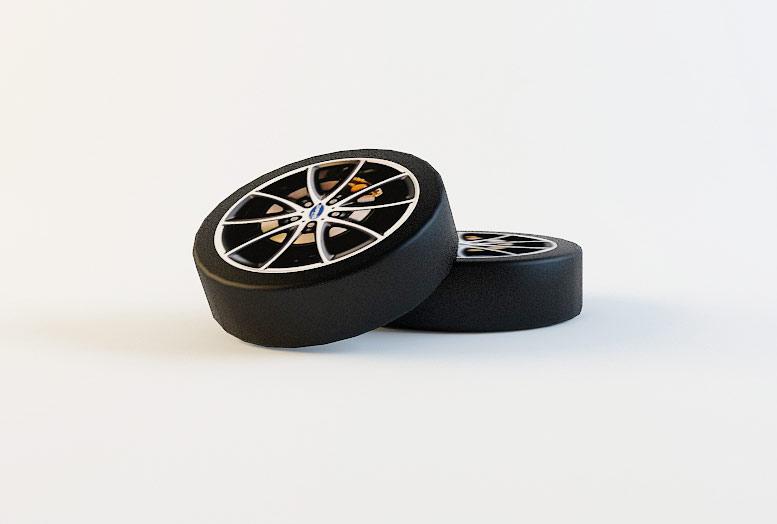 Комплект колес к кровати